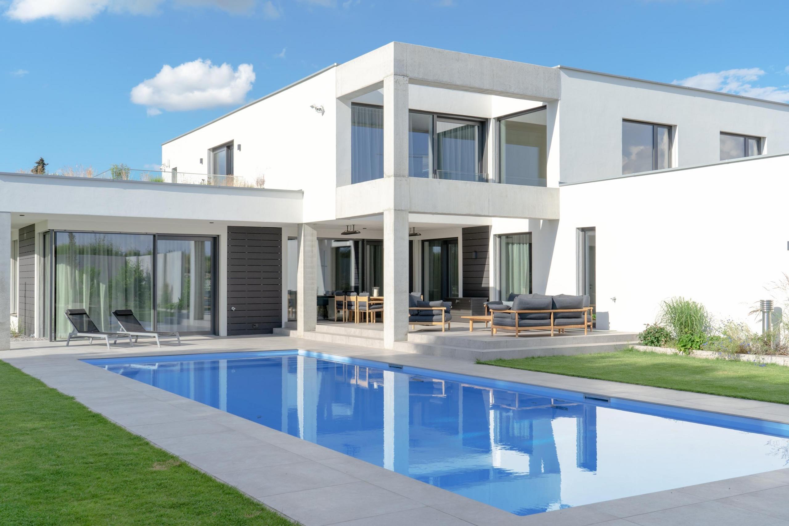 Büro Kolbinger Projekt Haus S Ansicht Pool