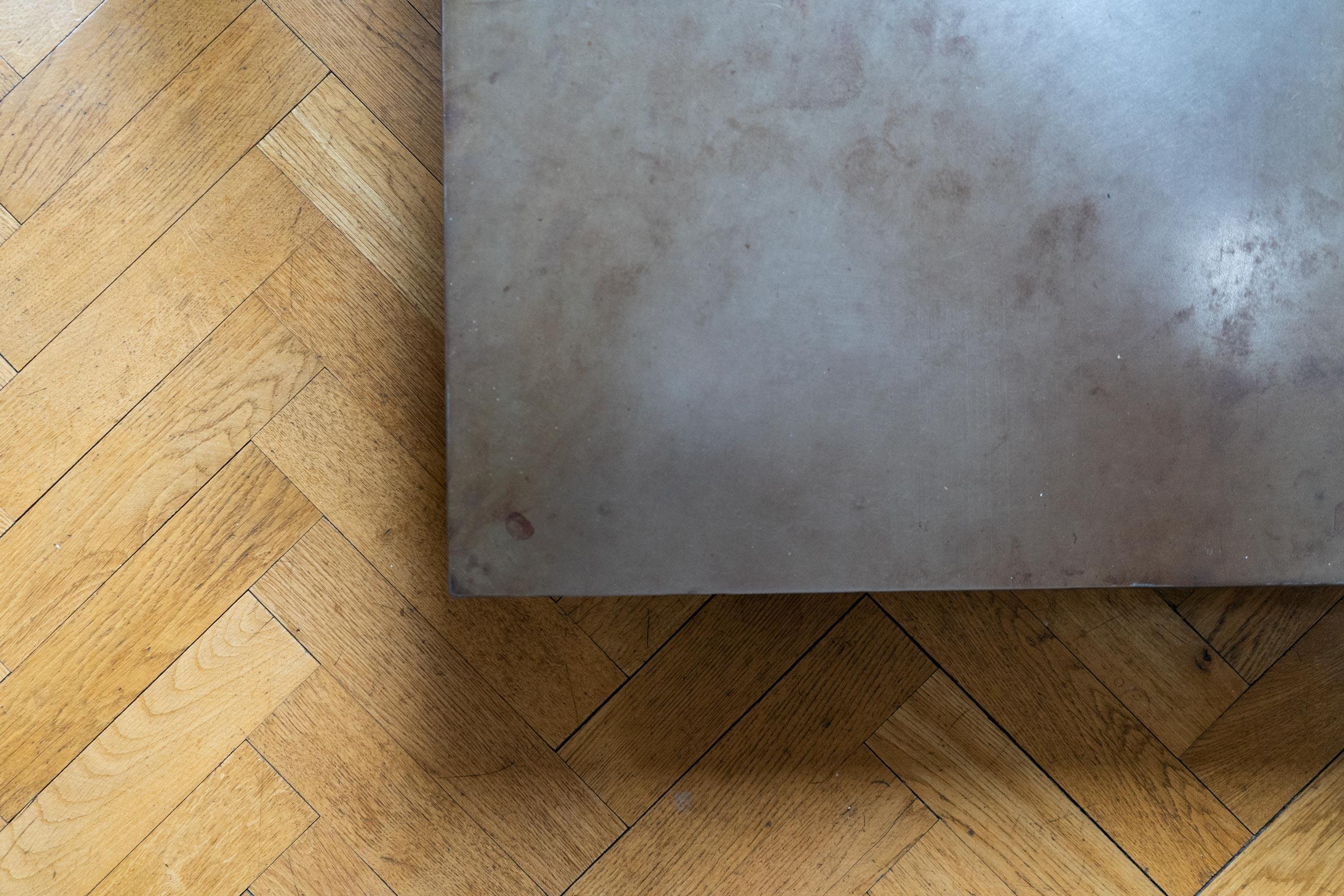Dachgeschossausbau Stahl Eiche