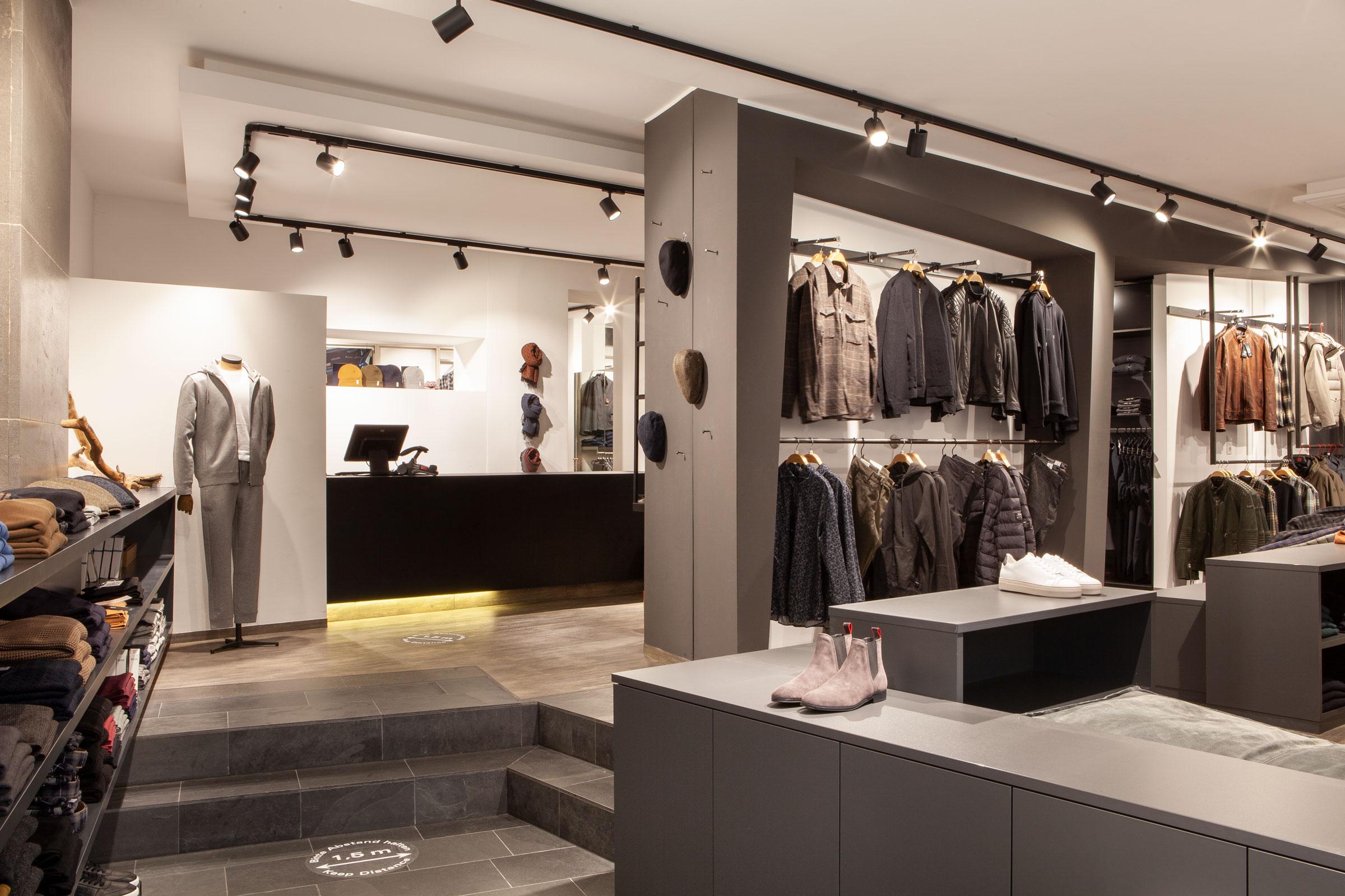 Modehaus Kuttenreich Innenraum